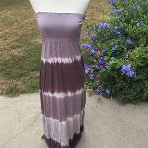 Will Smith Tie-Dyed Maxi Dress